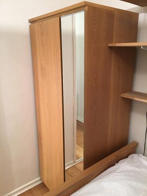 Ikea 2 door wardrobe