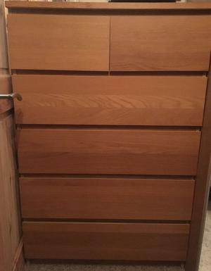 Ikea Malm Chest Of 6 Drawers Posot Class