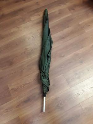 Large Fishing Umbrella With adjustable length centre pole, used but still in great condition.