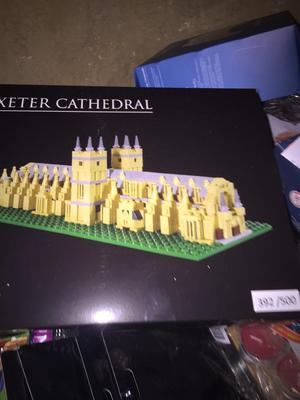 Exeter cathedral Lego set