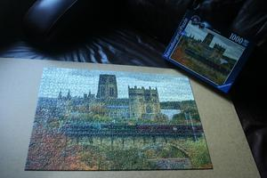 Ravensburger Durham Cathedral Jigsaw Puzzle ( pieces) in excellent condition / £10