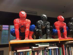 Spider-Man statues