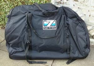 padded bike travel bag with wheels posot class