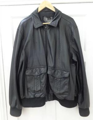 NEXT Men's leather jacket Size Large