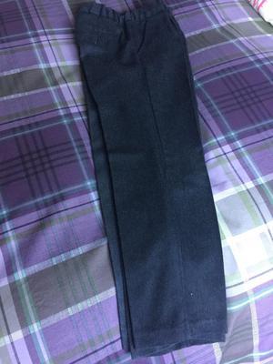 Grey school trousers size 8-9yrs (boys)