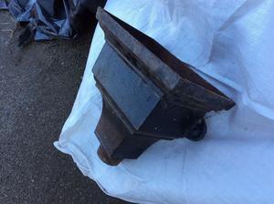 Cast iron hopper heads from Victorian building £30 each