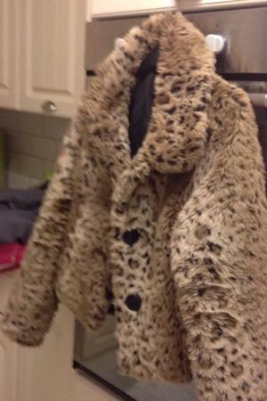 New look fur jacket