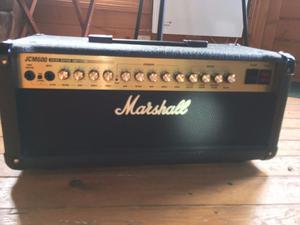 Marshall 4x10 Cabinet Marshall Jcm600 Head And Jcm410a 4x10 Cabinet 60w Posot Class