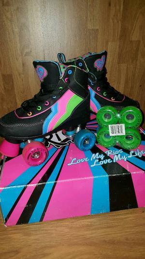Rio Passion Roller Skates uk 3