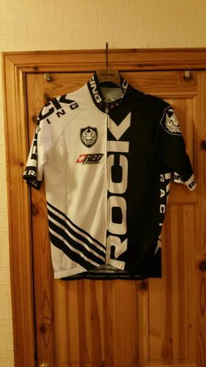 Rock racing team issue race fit jersey
