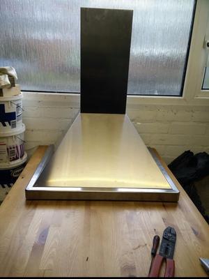 Baumatic stainless steel cooker hood