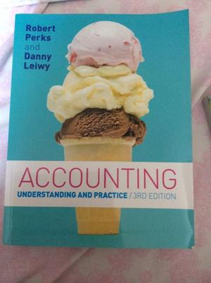 Accounting understanding and practice 3rd edition