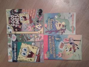 Spongebob Squarepants books x 4