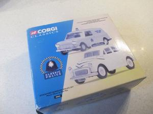 stockport police cars boxed set Morris minor and mini