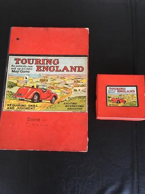 Amazing s Geographia Board Games Touring England, Touring Europe, Road Chase