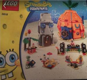 Lego spongebob squarepants pineapple