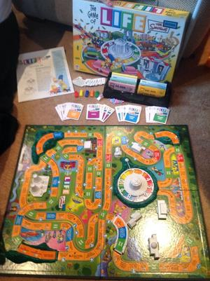 Simpsons Game of Life and Simpsons Monopoly