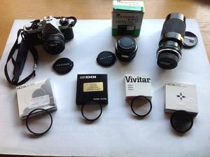 PENTAX ME Super camera and accessories