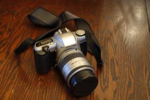 Pentax MZ- mm SLR with  Pentax lens