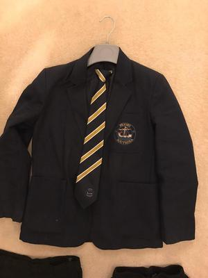 Priory School, Southsea blazer, tie and trousers