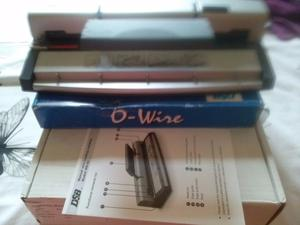 New manual wire binding machine + cut lengths