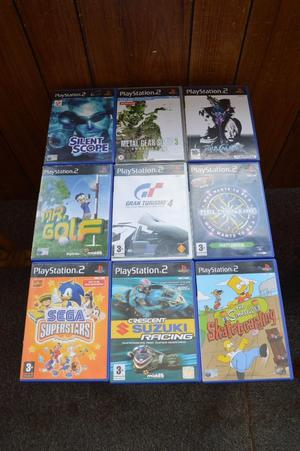 9 PS2 games all boxed with instruction manuals, Thatcham, Berkshire