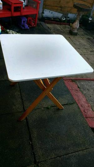 Folding Table.