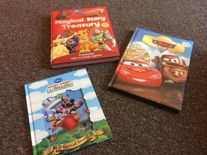 Disney Children's Books Lot 8 - Pooh, Animal, Doc McStuffins, Mickey, Frozen PB
