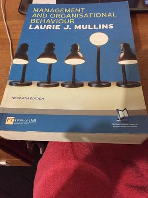 management and organisational behaviour by laurie j mullins ninth edition Organisational behaviour 8th edition mullins management and organisational behaviour 8th edition assess laurie j mullins management & organisational.