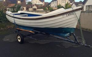 Orkney cabin fishing boat in cliffe woods posot class for 16 ft fishing boat
