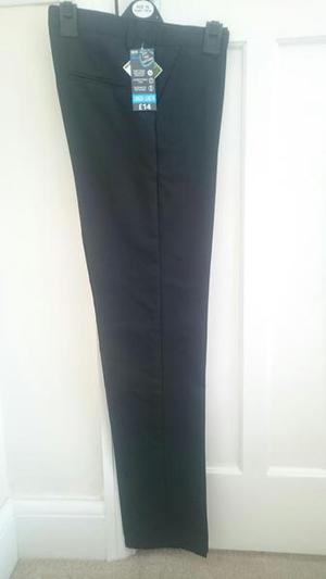 BOYS SCHOOL TROUSERS HEIGHT 176CMS BRAND NEW