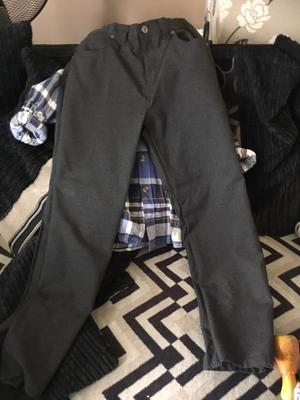 Boys trousers and waist coat!