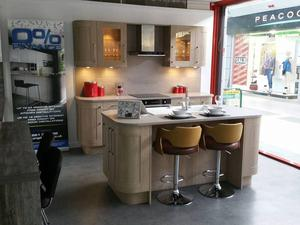 EX DISPLAY KITCHEN INCLUDING APPLIANCES