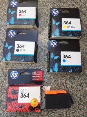 HP 364 Genuine Ink Cartridges Set 5 - B/C/M/Y for HP Photosmart  N9J73AE