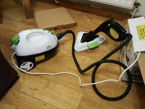 morphy richards steam cleaner instructions