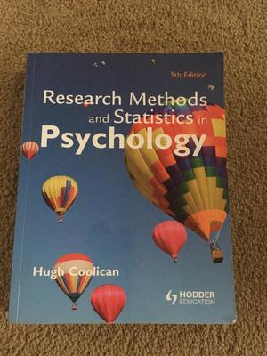 research and statistics in psychology