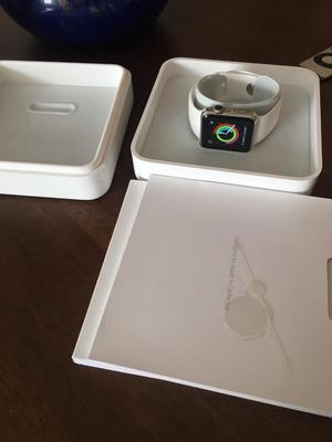 Apple Watch 38mm Series 1 Stainless Steel