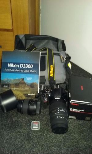 NIKON D withmm and mm sigma lens