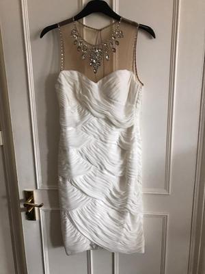 White size 12 cocktail dress