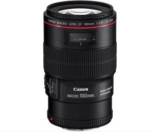 Canon EF 100mm f/2.8L Macro IS USM Mint Condition