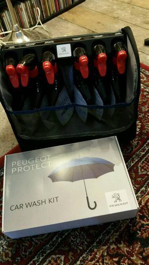 Peugeot car care kit