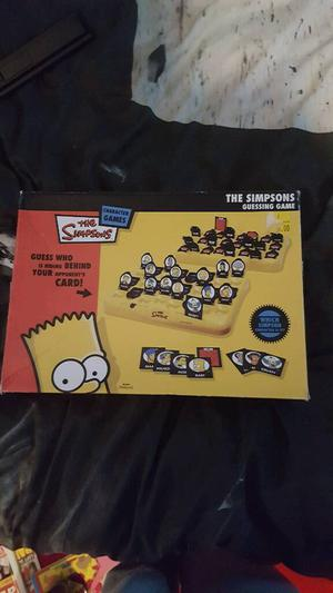 The simpsons guessing game