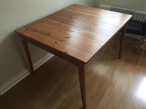 Kitchen Table With Matching Bar Stools