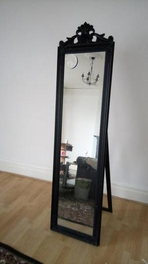 mirror dressing cheval tall black
