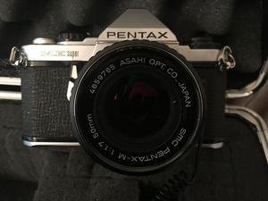 Pentax Me Super 35mm Slr Film Camera With 50mm Lens Kit