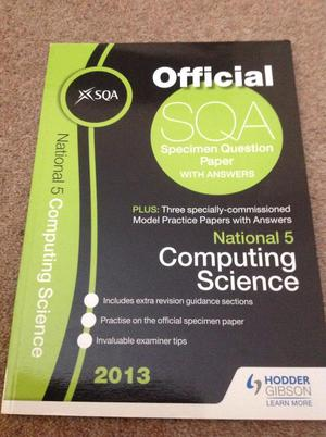 National 5 computing science coursework