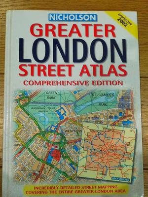 Nicholson Greater LONDON Street Atlas Book (updated for )
