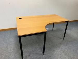 ikea galant curved office table posot class