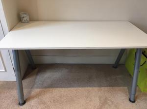 Pair Of Ikea Desk Top Legs Posot Class