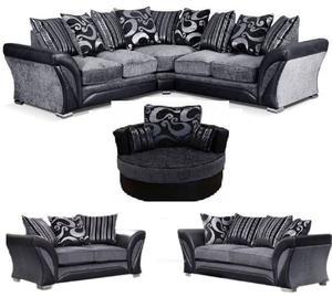 Dfs Moda Corner Sofa And Storage Pouffe In Posot Class